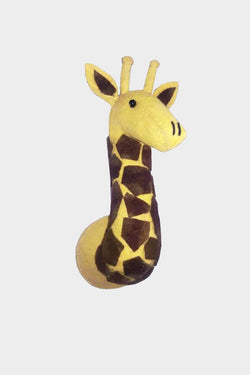Mini Giraffe Wool Mount