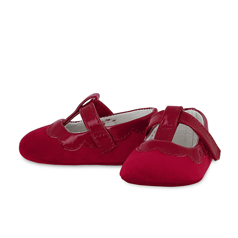 Red Velvet Mary Janes