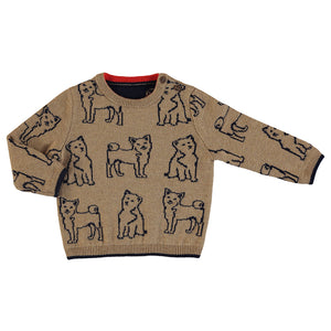 Almond Dogs Intarsia Sweater