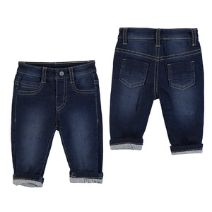 Jersey Lined Baby Jeans