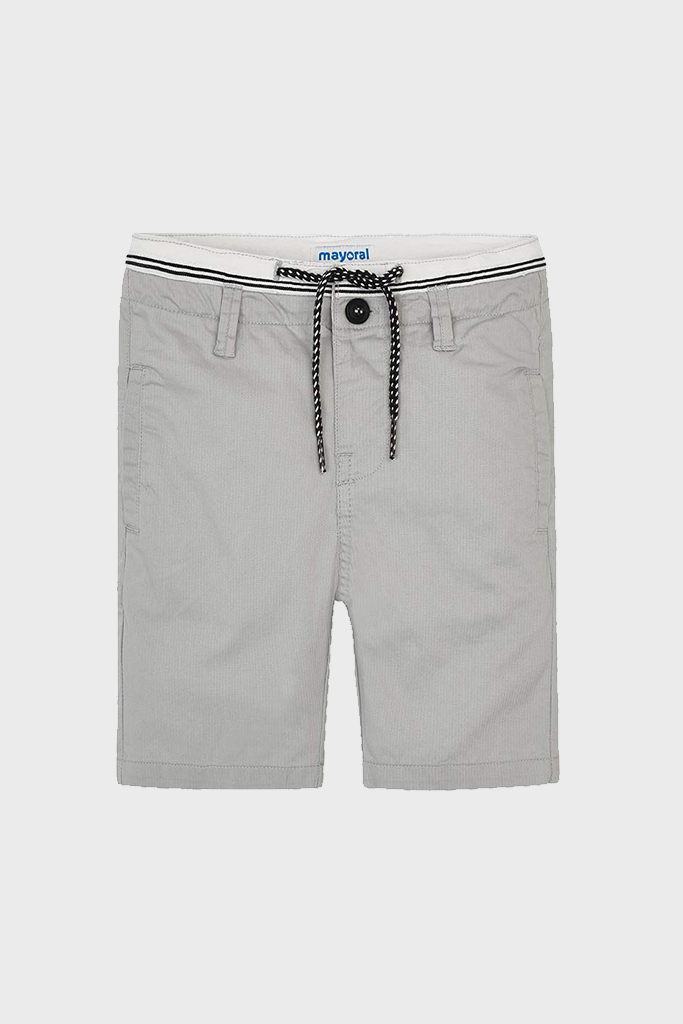 Drawstring Chino Shorts