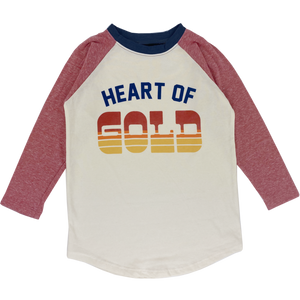 Heart of Gold L/S Raglan Tee Baby