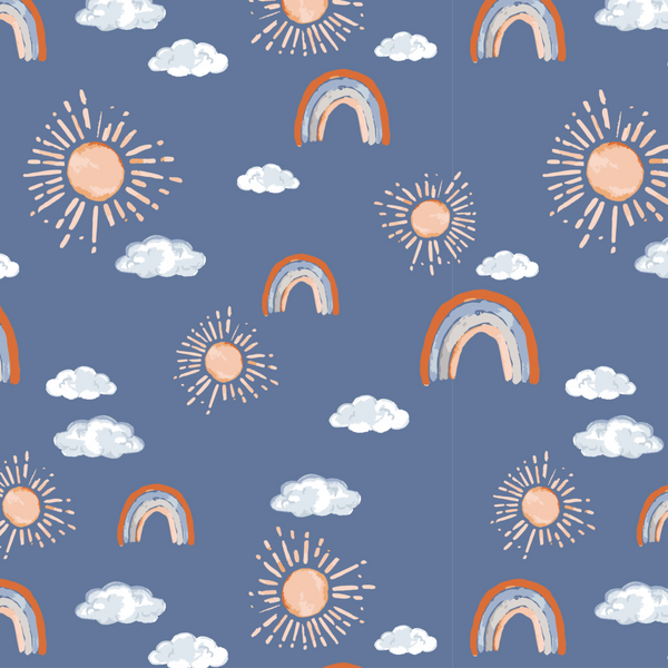 Hello Sunshine Muslin Crib Sheet