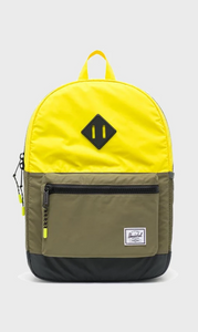 Heritage Backpack - Reflective Neon/Olive/Black