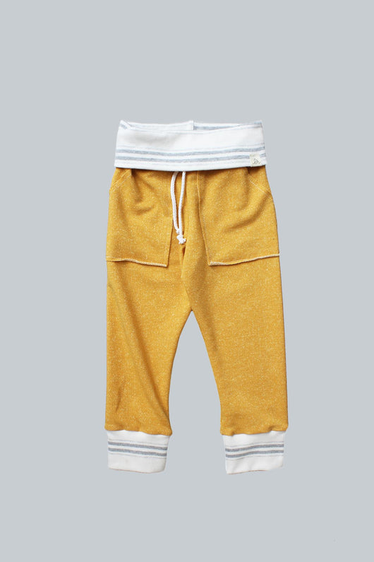 Mustard & Stone Stripe Kid Sweatpants