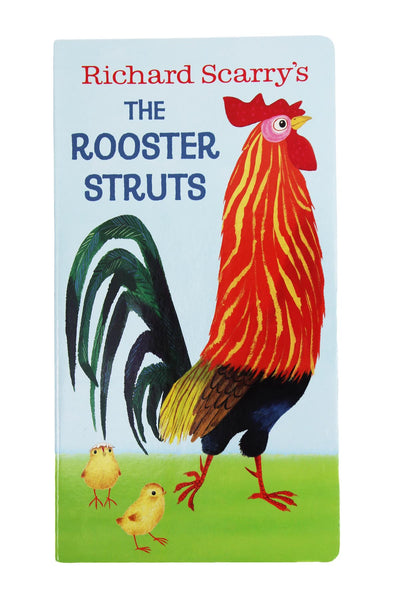 The Rooster Struts Board Book