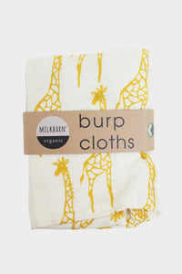 Burpies Set - Yellow Giraffe