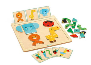 Geo Animal Magnet Game