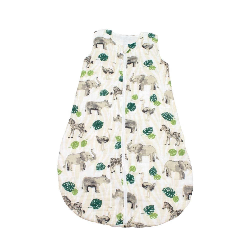Jungle Muslin Bedtime Sleeper