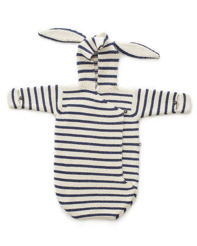 Bunny Wrap Indigo Stripes