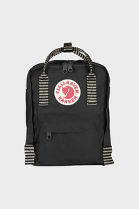 Kanken Mini Black Striped