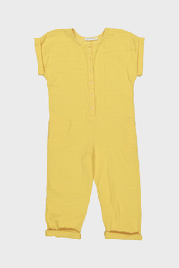 Yellow Splash Kid Overall