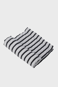 Breton Stripes Muslin Swaddle Blanket