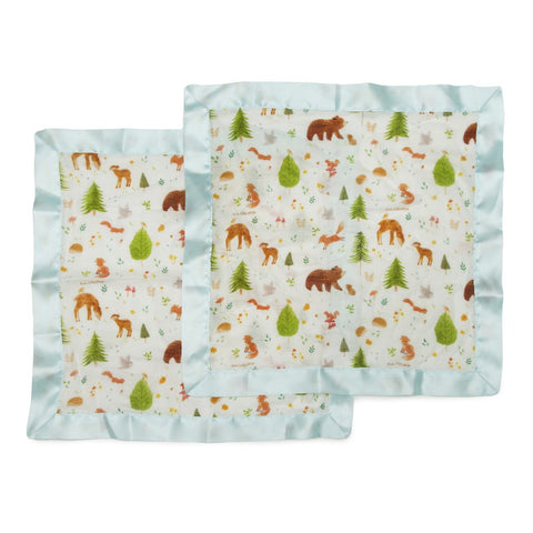 Security Blanket 2-Pack forest friends
