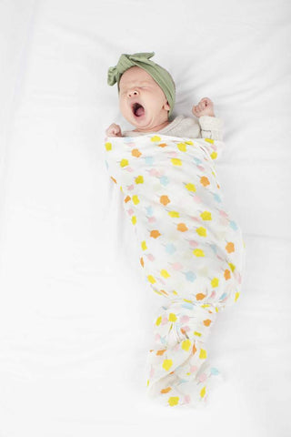 Muslin Swaddle - candy floss