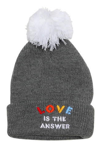 Love Pom Pom Beanie 2-5 years