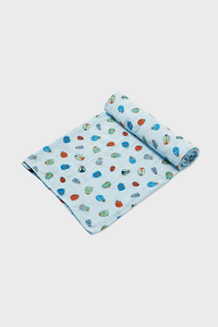 Lovely Bugs Muslin Swaddle Blanket