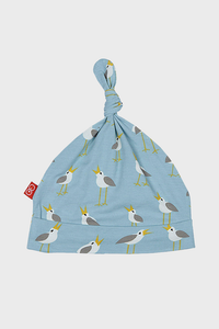 Blue Plovers Modal Hat with little birds