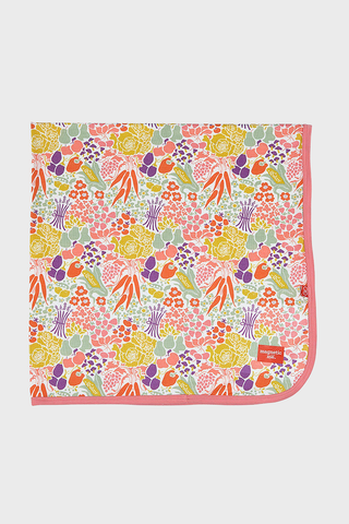Modal Swaddle Blanket with floral print
