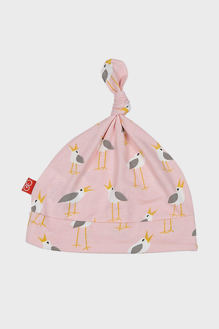 Pink Plovers Modal Hat with little birds