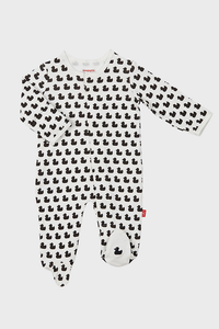 Quack N Roll Organic Cotton Magnetic Footie