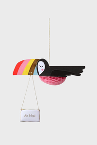 Flying Toucan Card