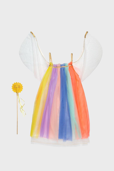 Rainbow Colorful Girl Dress Up