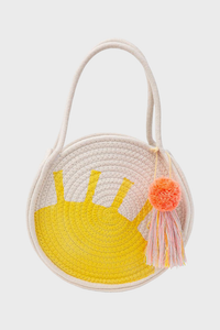 Sun Woven Cotton Rope Bag