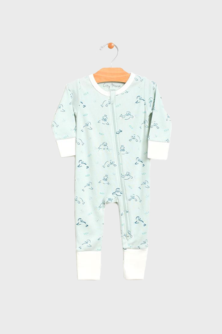 Mint Seals Romper