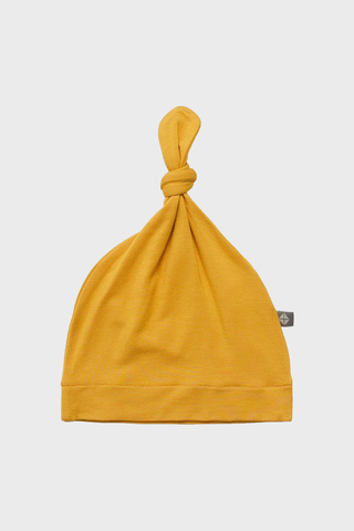 Mustard Knotted Cap