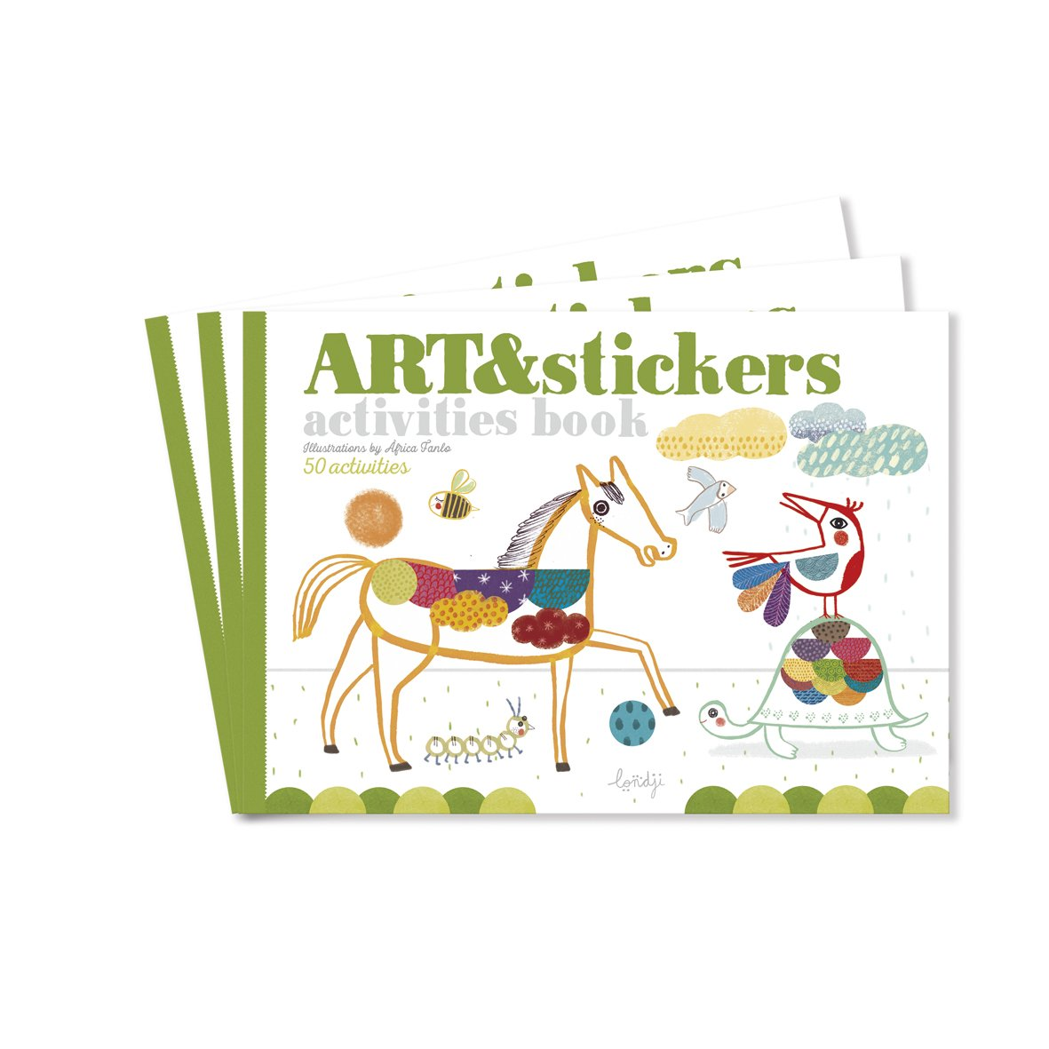 Art & Stickers Activity Book