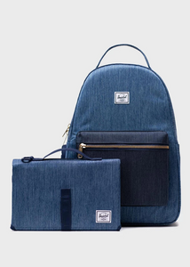 Nova Sprout Diaper Bag - Faded Indigo