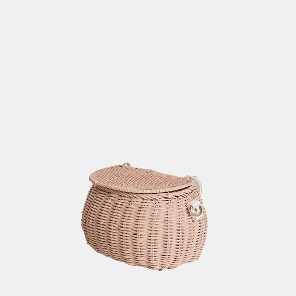 Minichari Basket Bag Rose