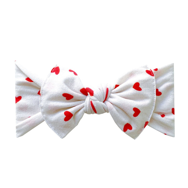 Printed Bow Stretch Headband Romeo