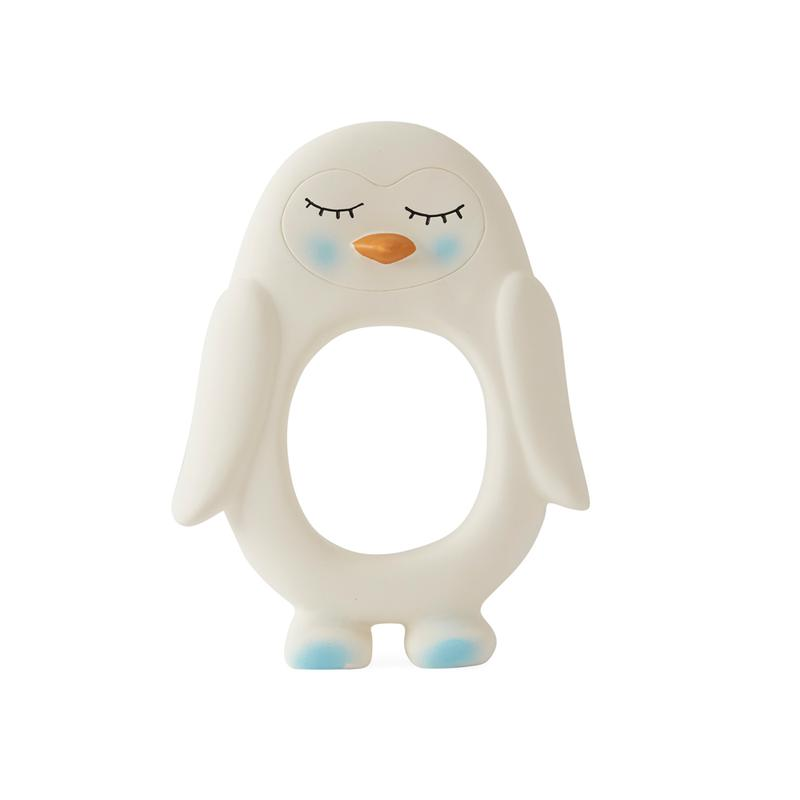 Natural Latex Penguin Teether