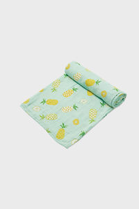 Pineapple Muslin Swaddle