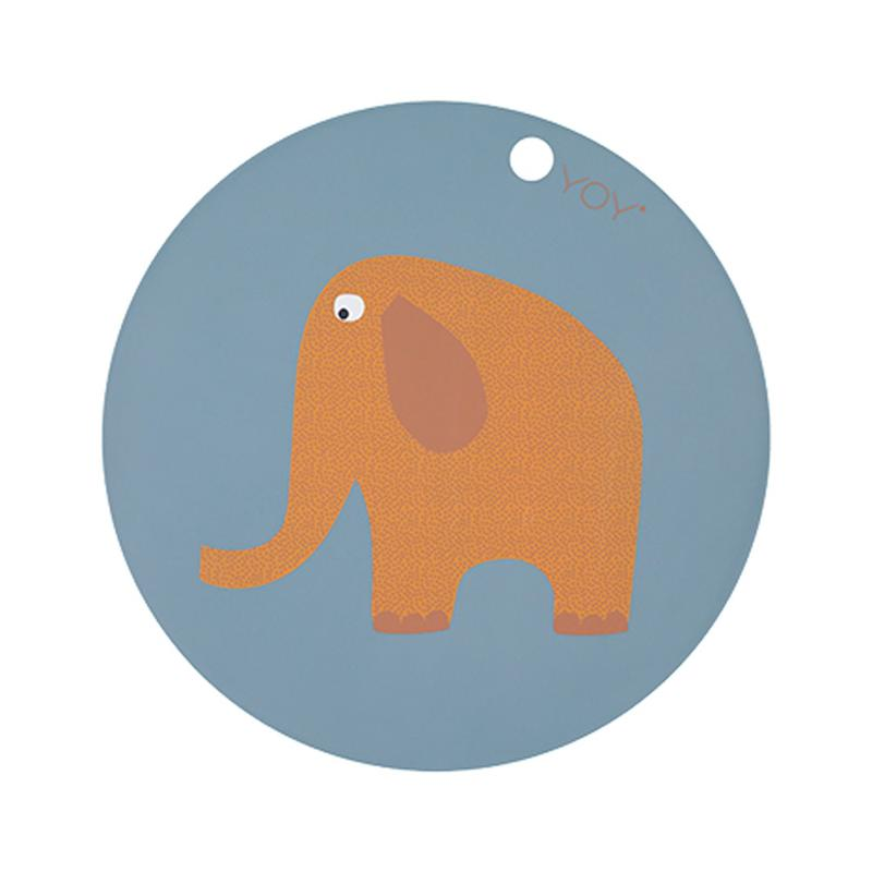 Placemat Elephant Tourmaline