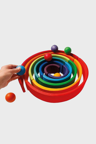 Wooden Rainbow Large 12 Piece Multi Color