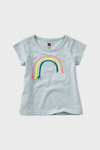 3D Rainbow Baby Graphic Tee