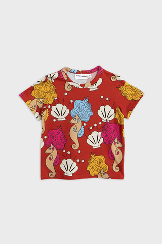 Seahorses SS Tee Red