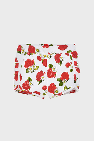 Rose Printed Baby Shorts