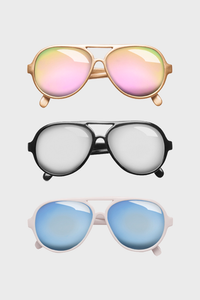Ryder Aviator Baby Sunglasses
