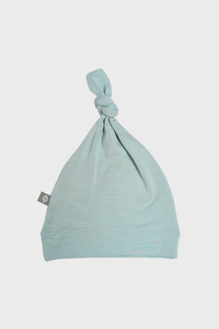 Sage Knotted Cap