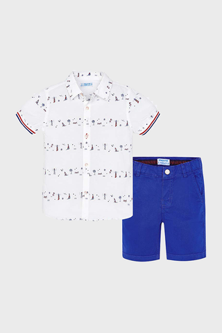 Nautical Shirt & Shorts Set