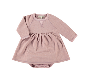 Pink Hacci Raglan Dress