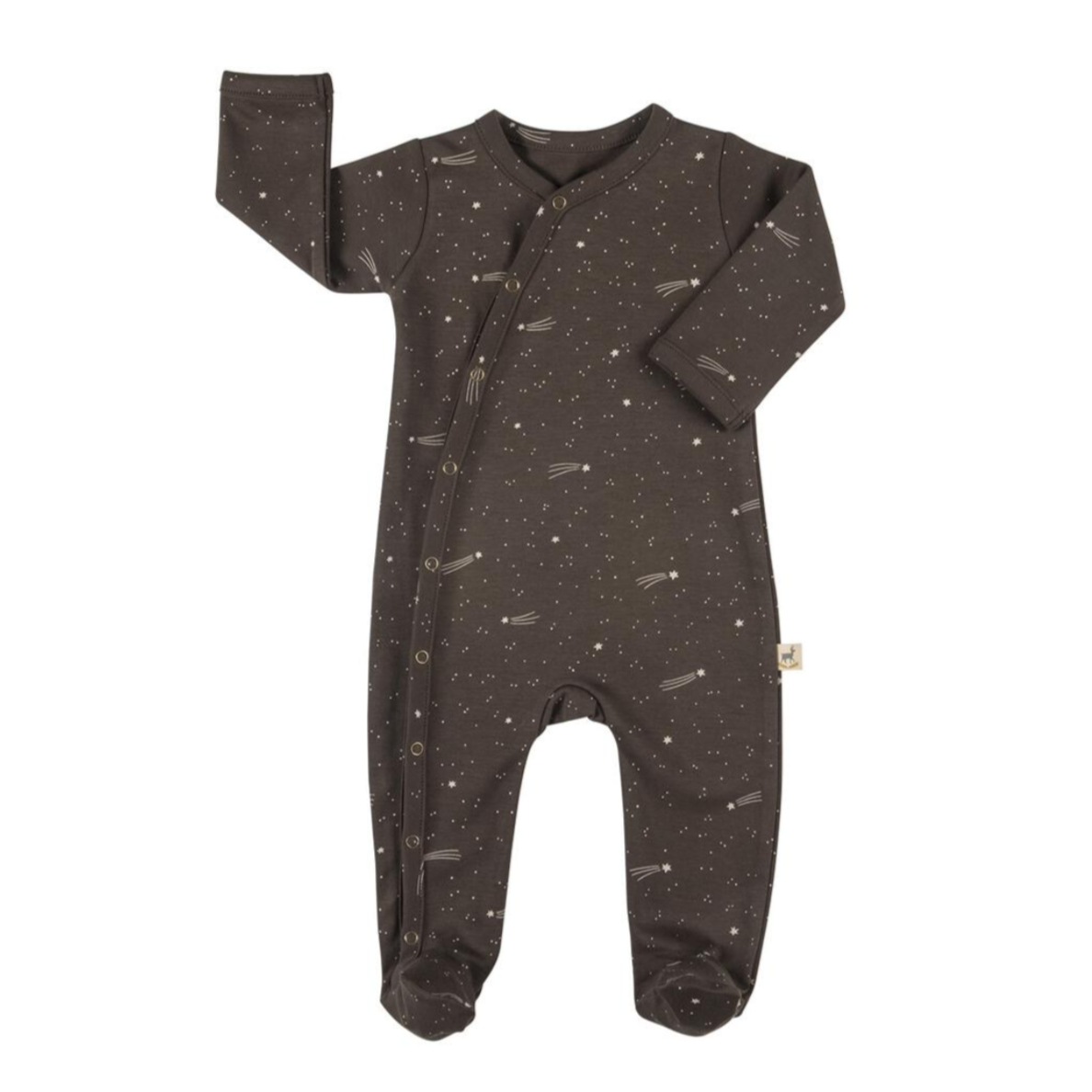 Bright Stars Footed Romper