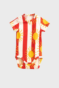 Sun Stipes Onesie