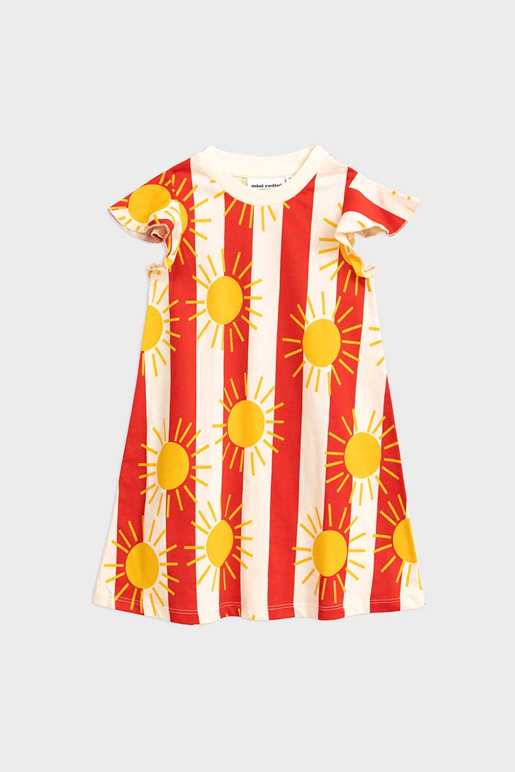 Sun Stripes AOP Wing Dress
