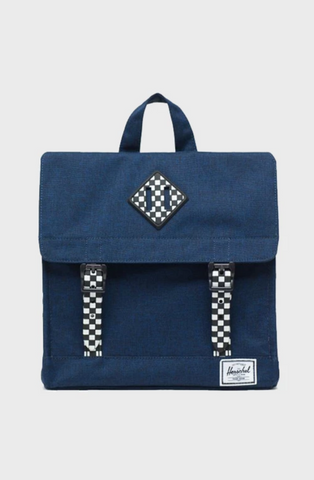 Survey Backpack - Medieval Blue/Checkerboard