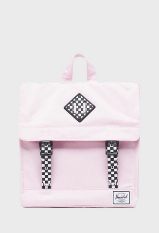 Survey Backpack - Pink Lady/Checkerboard